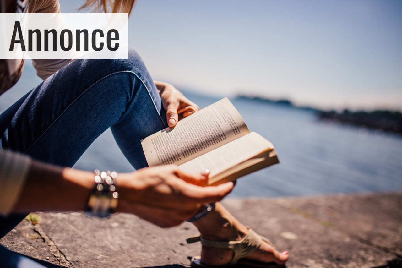 Læs bøger og bliv lykkelig